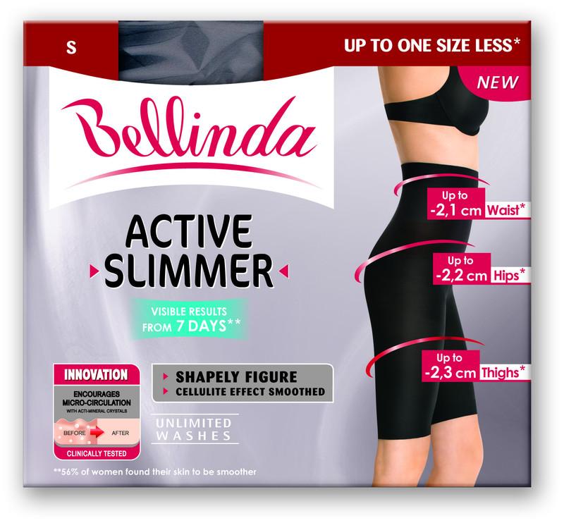 Bellinda Bermudy ACTIVE SLIMMER high waist bermuda BU812504 - černá - M