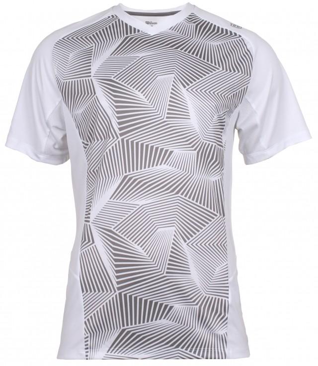 Wilson Solana Geometric pánské triko - od 1 ks