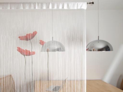 Stoklasa Provázková záclona 100x200cm CORTINA - bílá
