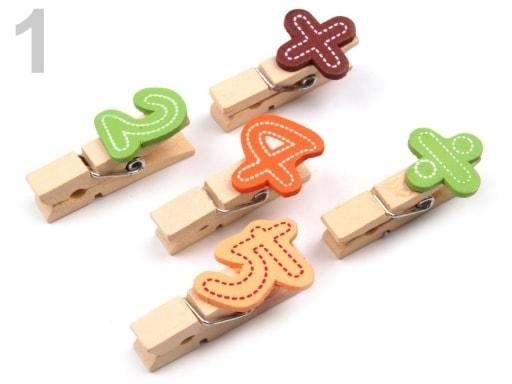 Stoklasa Dřevěné kolíčky - 1 viz foto