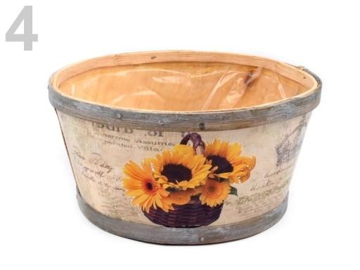 Stoklasa Dřevěný obal na květináče - 4 viz foto