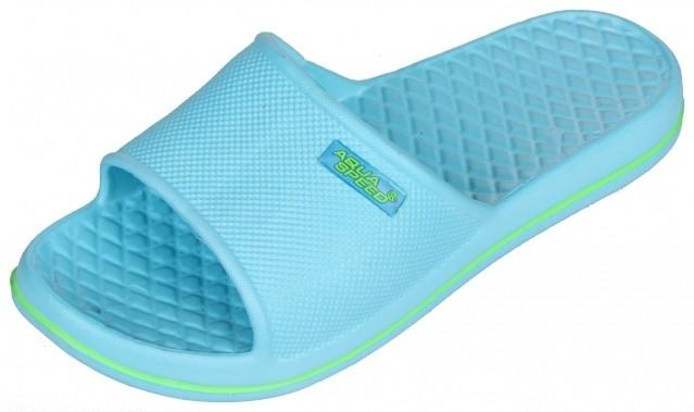 Aqua-Speed Cordoba dámské pantofle - modrá sv. - 41