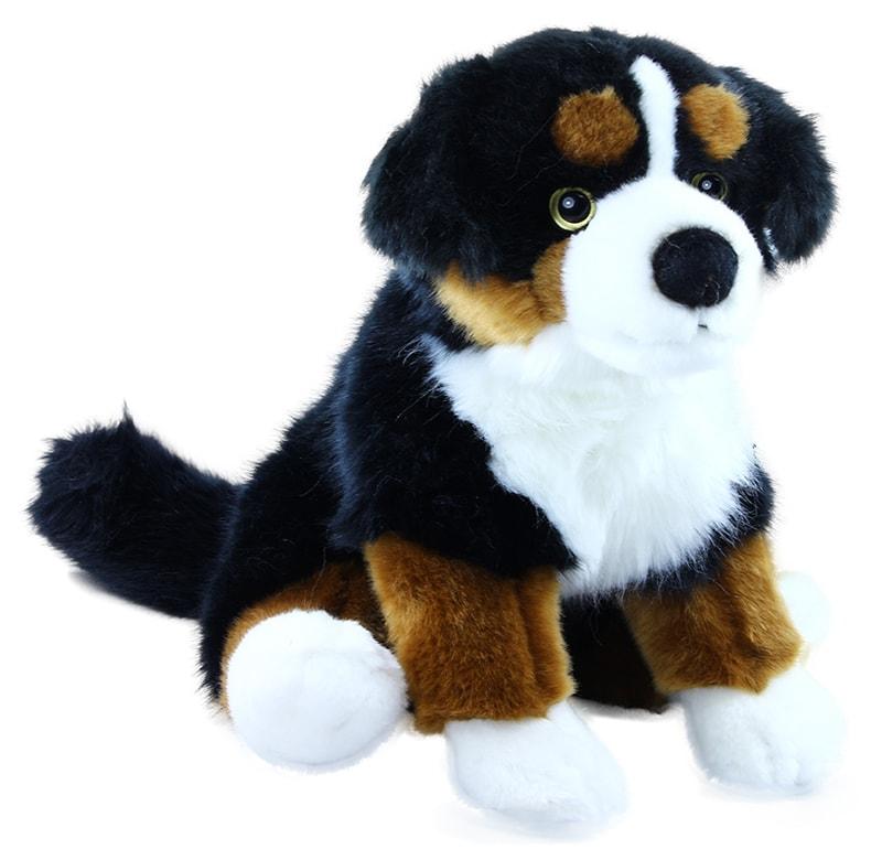 Rappa Plyšový pes salašnický sedící, 25 cm