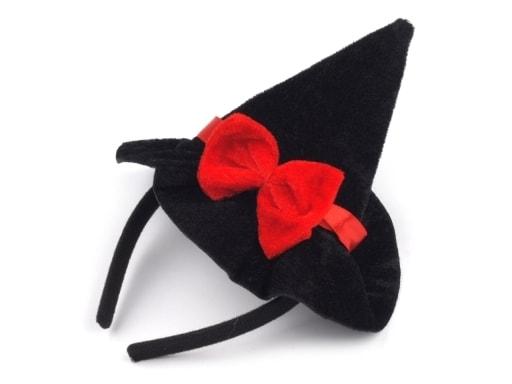 0a56999da5d Karnevalová čelenka - čarodějnický klobouk