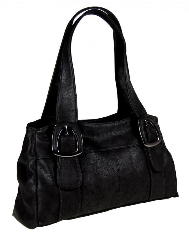 NewBerry Dámská kabelka na rameno 822 černá - dle obrázku