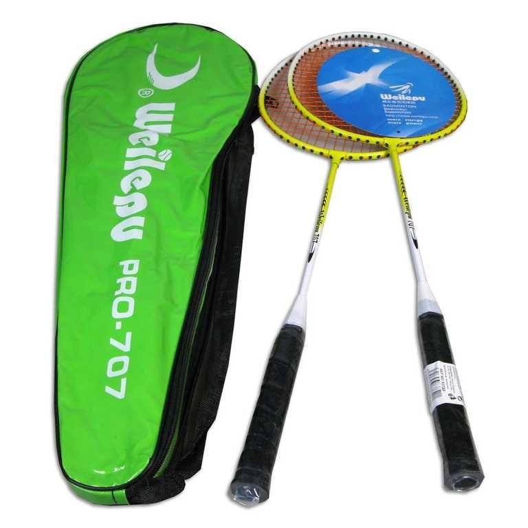 _Ostatní 1_ Sestava badmintonová s košíkem v obalu na zip - dle obrázku
