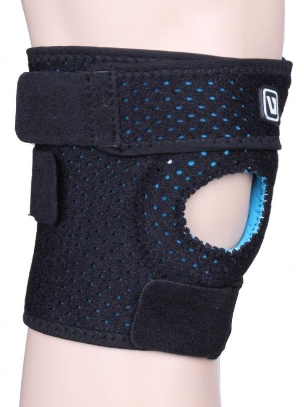 LiveUp Bandáž koleno LS5754 neoprénová nastavitelná