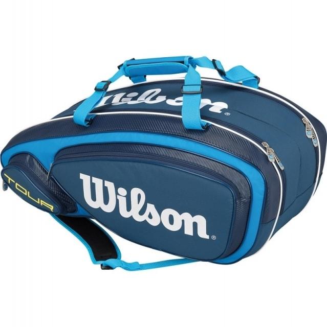 Wilson Tour V 9 2016 tenisová taška - od 1 ks - červená