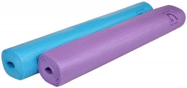 LiveUp Karimatka Yoga LS3231 173x61x0 4cm - od 1 ks - fialová