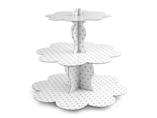 Stoklasa Papírový stojan 3 patra - bílá