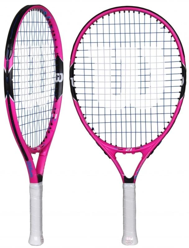 """Wilson Burn Pink 2016 juniorská tenisová raketa - od 1 ks - 21"""""""