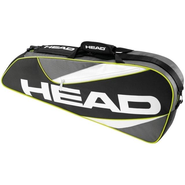 Head Elite 3R Pro 2016 taška na rakety - od 1 ks - červená