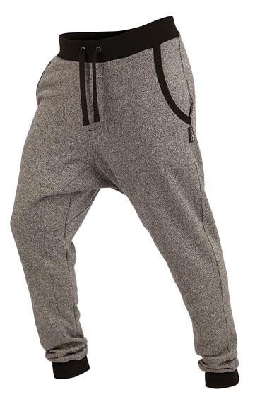 Litex Kalhoty pánské dlouhé s nízkým sedem 89195 - světle šedé melé - XL