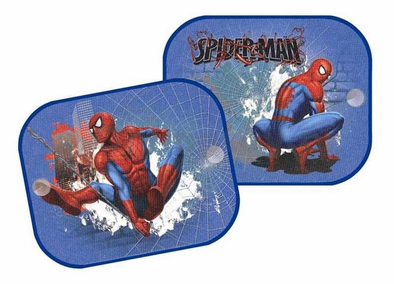 Mix hračky Stínítka do auta sada 2 clony SPIDERMAN