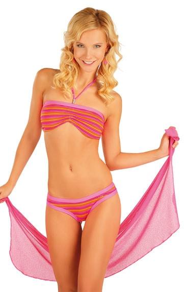 Litex Plážový šátek na zavazování 85533 - červená - UNI