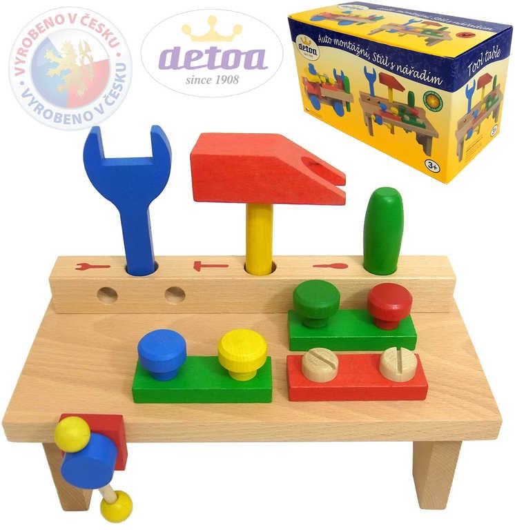 Detoa Dětský pracovní stolek set s nářadím