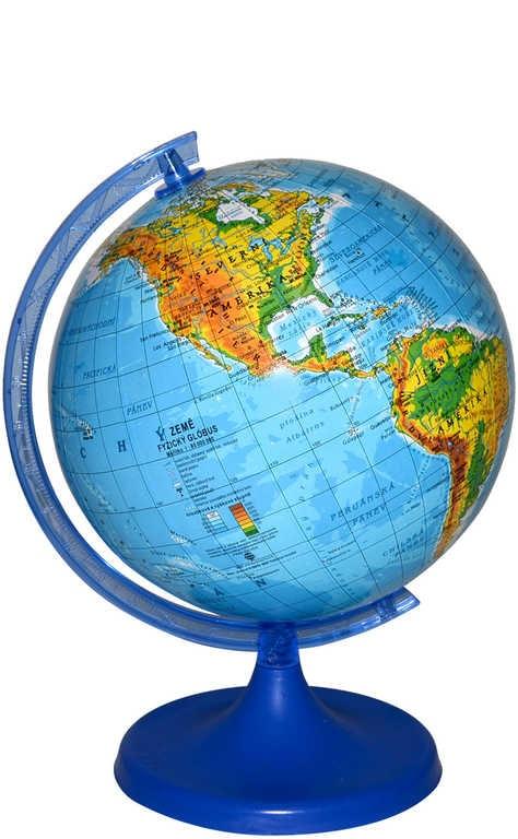 Mix hračky Globus zeměpisný plastový mapa světa 16cm malý v sáčku - dle obrázku