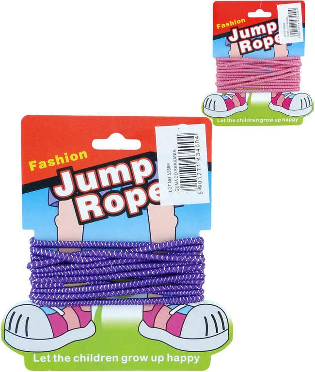 Mix hračky Guma dětská na skákání 2,8m 2 barvy - dle obrázku