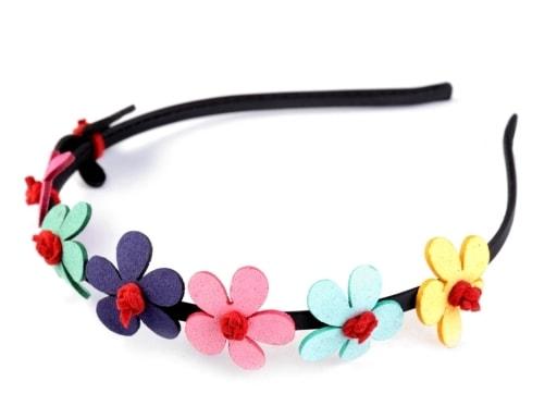Stoklasa Čelenka s květy - multikolor