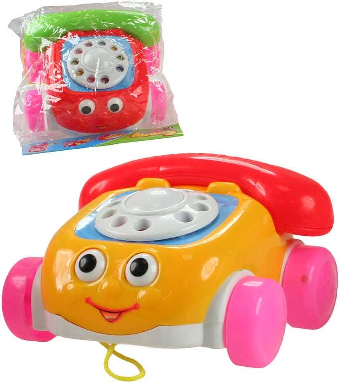 _Ostatní 1_ Telefon auto plastové tahací na kolečkách