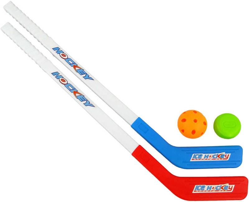 Mix hračky Florbalový dětský set 2 hokejky + míček + puk - dle obrázku