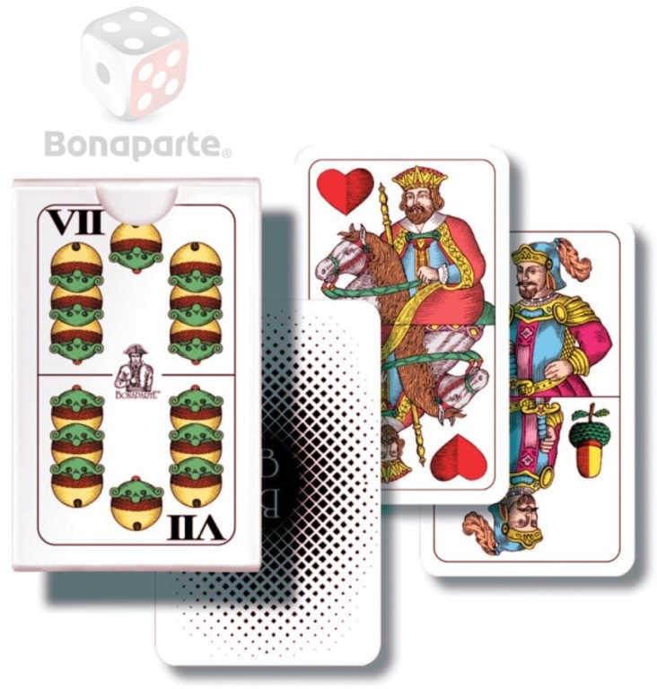 Bonaparte Hra karetní Mariáš dvouhlavý mini