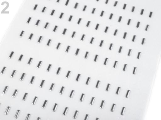 Stoklasa Kovový hot-fix na přenášecí fólii 3x10 mm - 2 platina
