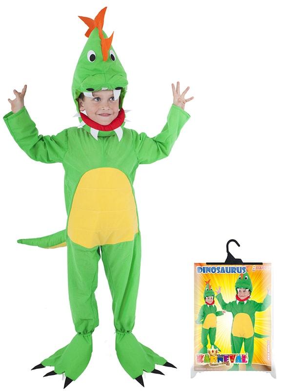 Rappa Kostým pro děti dinosaurus, vel. S