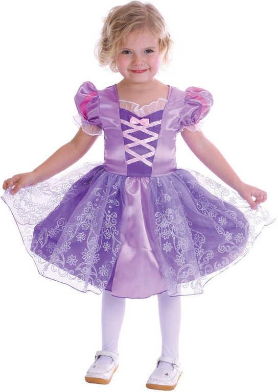_Ostatní 1_ Kostým pro děti Princezna vel. XS (92-104cm) 3-4 roky