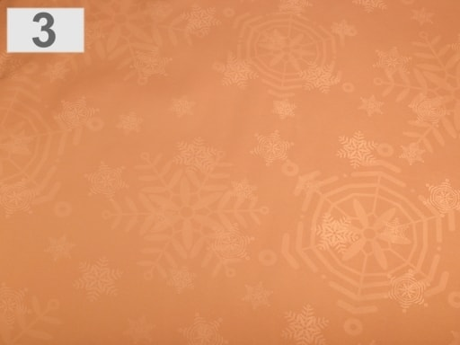 Stoklasa Balící papír vánoční 70x150 cm - 3 měděná
