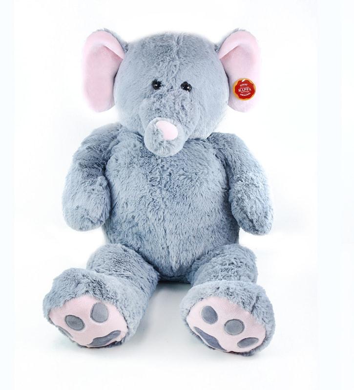 Rappa Plyšový slon 100 cm