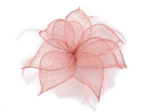 Fascinátor   brož květ Ø20 cm  b103a73c79