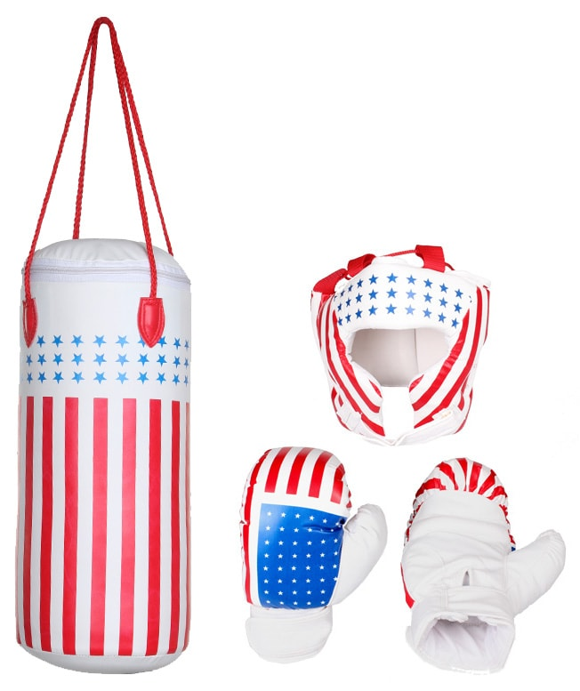 Merco Merco mini boxing set Junior pytel rukavice helma
