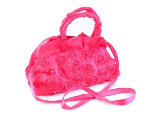Stoklasa Dětská kabelka 12x18 cm - růžová malinová