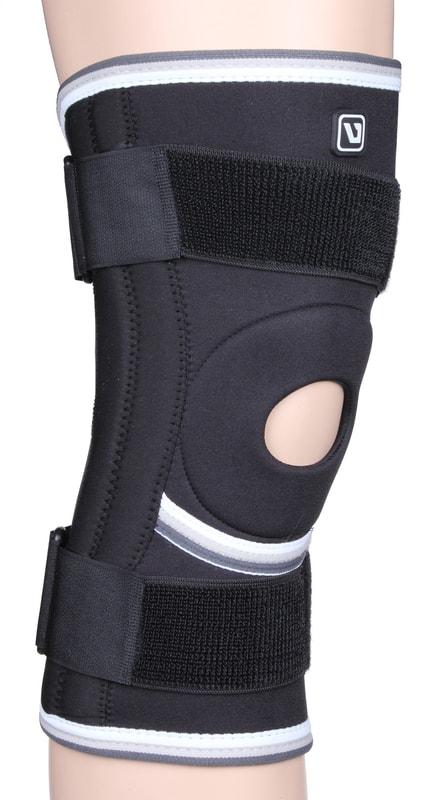 LiveUp Bandáž koleno LS5762 neoprénová nastavitelná