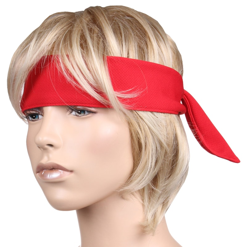 Merco Active sportovní čelenka - červená