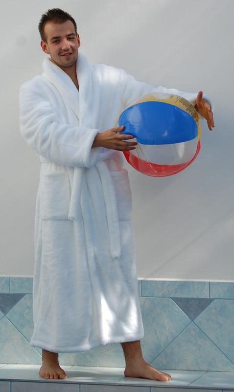 Vestis Pánský župan Denis bílý 21 20 0100 - bílá - L