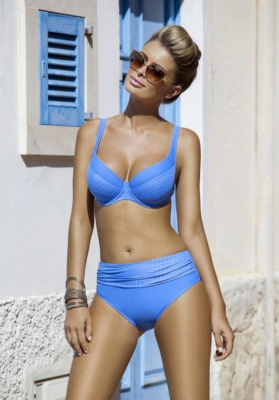 Dámské dvoudílné plavky Klara light blue  8472834d8a