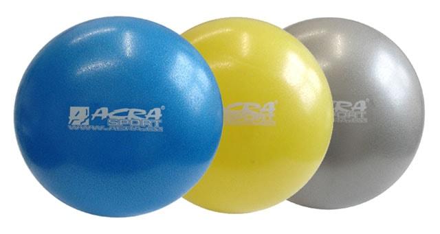 Acra Overball 20 cm - šedá