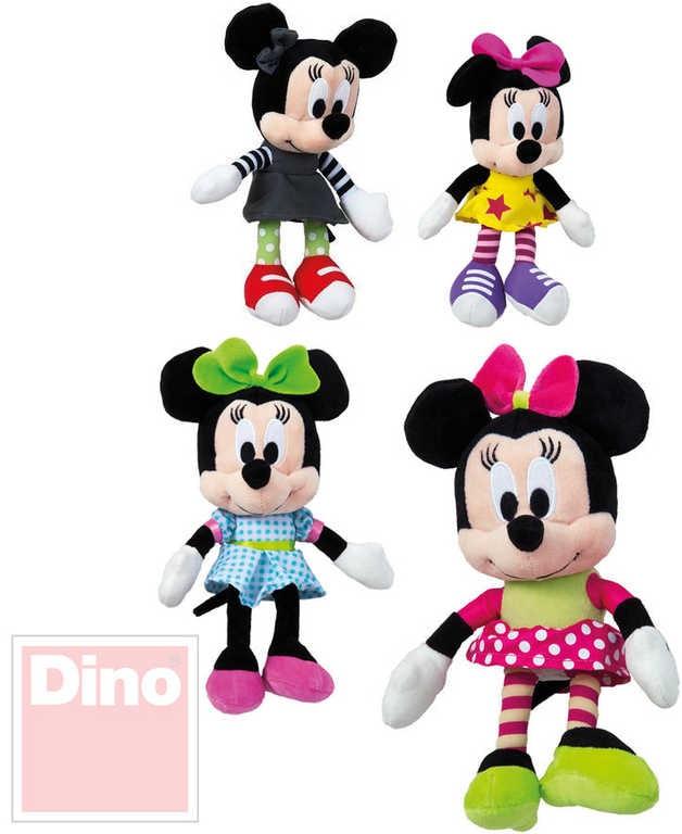 Mix hračky Plyš Disney Minnie 20cm IV postavička 4 druhy