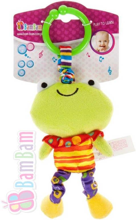 Bam Bam Baby vibrující přítel Žabka pro miminko