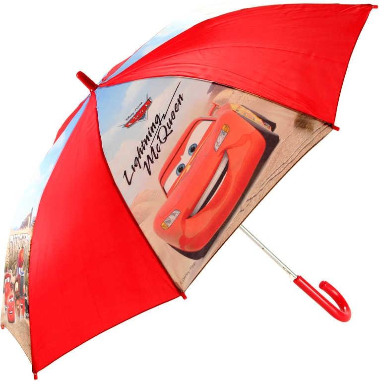 Mix hračky Deštník dětský Cars (Auta) klučičí vystřelovací v sáčku