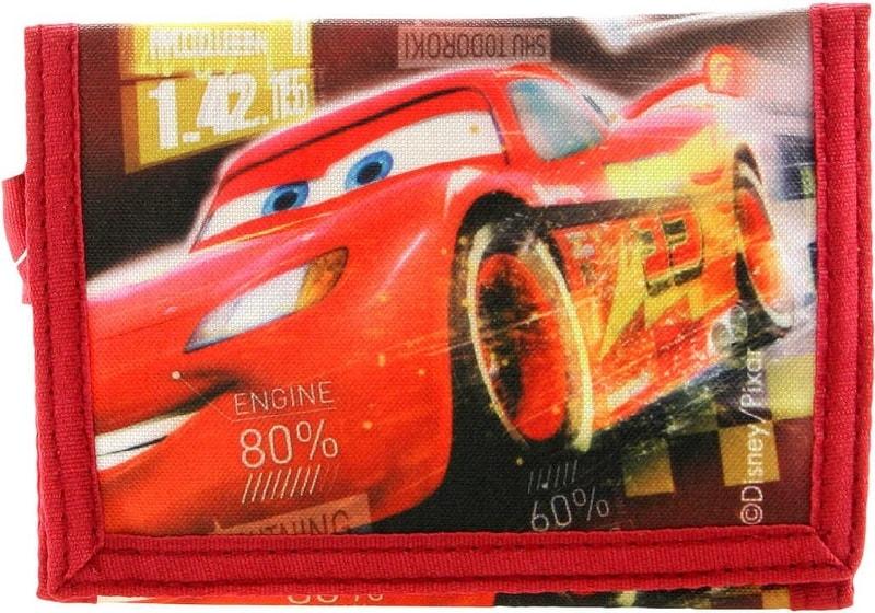 Mix hračky Peněženka dětská klučičí Cars (Auta) na suchý zip