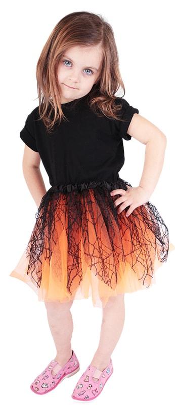 Rappa Sukně tutu oranžová