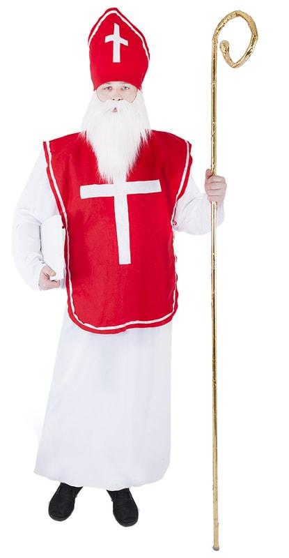 Rappa Karnevalový kostým mikuláš, dospělý