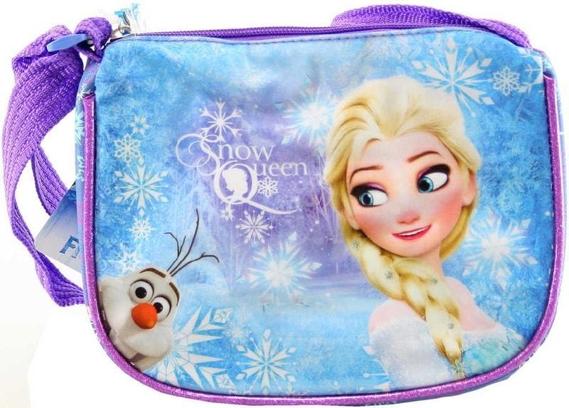 Mix hračky Taštička Frozen (Ledové Království) dětská kabelka s popruhem lesklá fialová