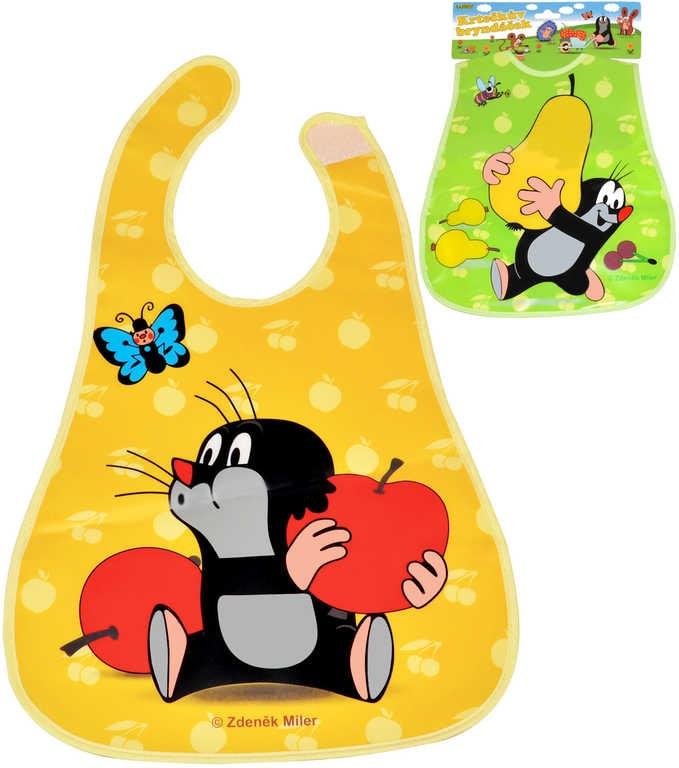 Mix hračky KRTEK Bryndák dětský baby s obrázkem Krteček pro miminko 2 druhy