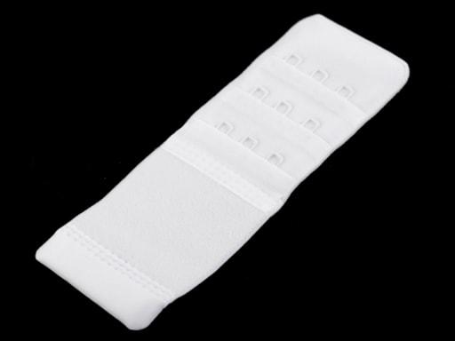 Stoklasa Prodloužení k podprsence Prym šíře 40 mm 3 řady 3 očka - 1 bílá