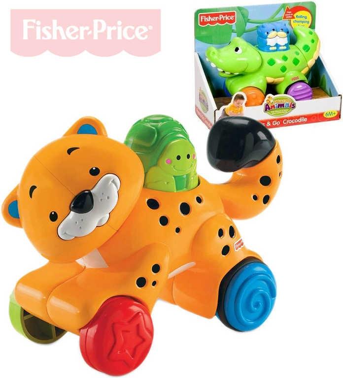 Fisher Price Zvířátko baby jezdící plastové pohyblivé části 2 druhy