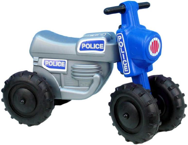 Mix hračky Odrážedlo / odstrkovadlo CROSS Policie plastová motorka